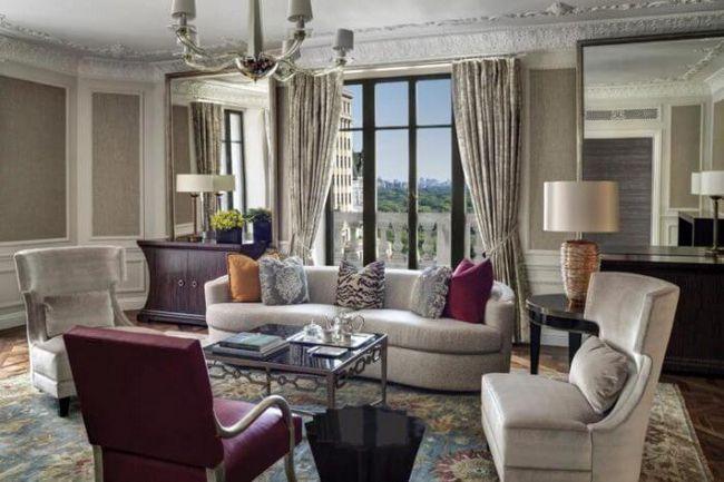 16 Най-луксозни в света на президентските апартаменти