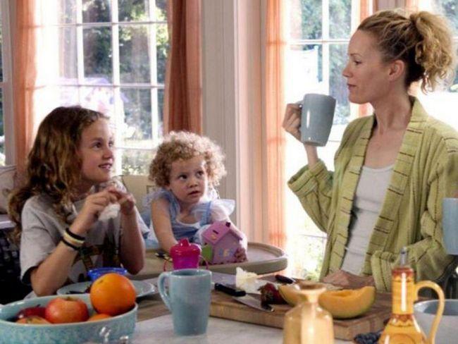 17 Звезда майки и дъщери, заедно заснет във филма