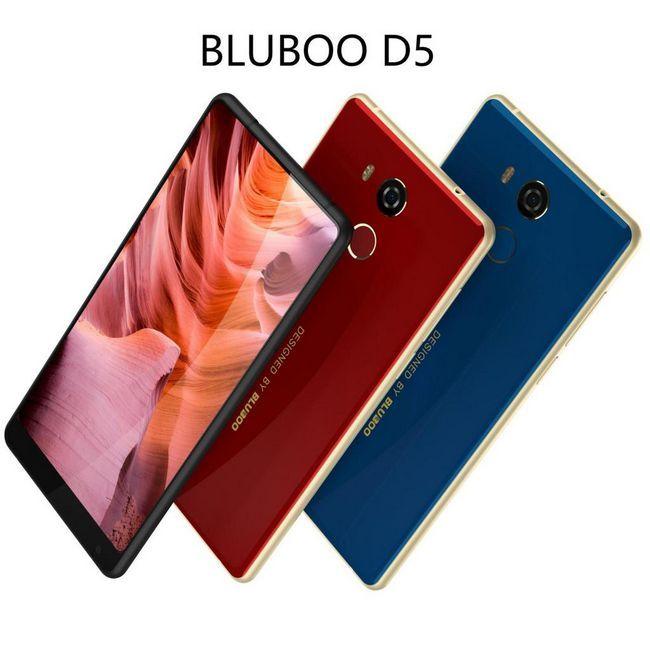 BLUBOO ще въведе бюджетен аналог Xiaomi Mi Mix 2