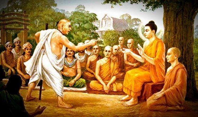 Човекът, който плюеше в лицето на Буда: философска притча