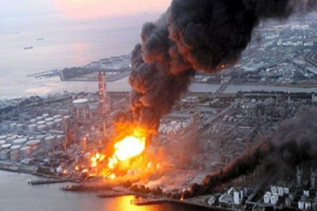 Снимка на трагедията в Чернобил