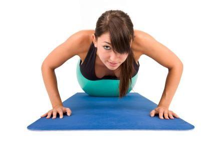 Упражнения за отслабване на ръцете.