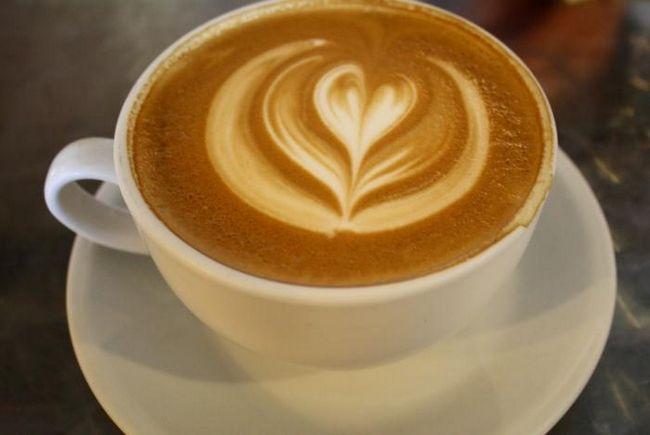 мляко с кафе
