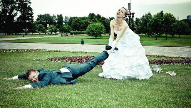 Какво никога не прави сватбата фотограф на сватбата си?