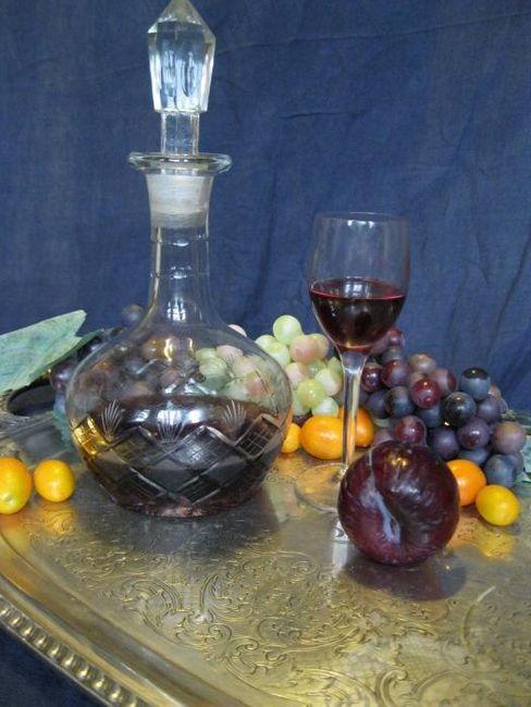 Вино у дома от сливи
