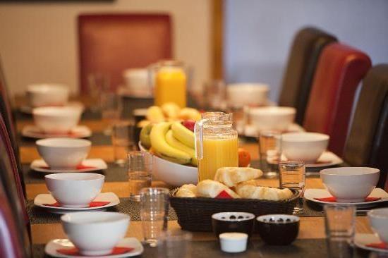 какво означава континентална закуска?