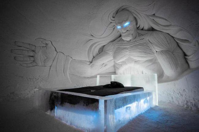 Фенове ще бъде удоволствие: във Финландия, отвори лед хотел в стила на