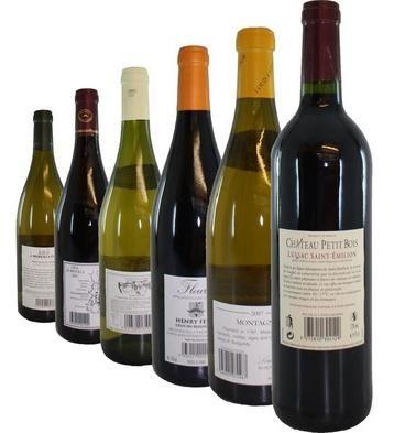 Френски вина - заглавия