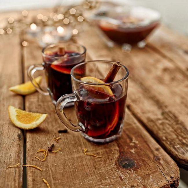 можете да пиете греяно вино при температура от