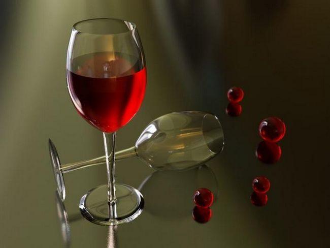 вино от рецептата за касис