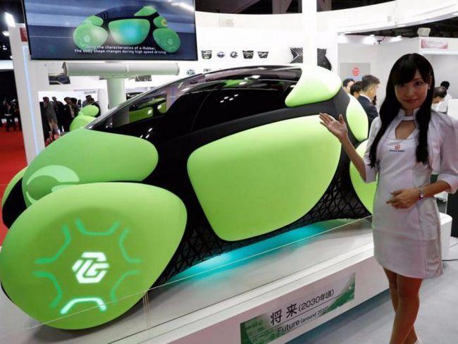 Заслужава да се види: най-ексцентричните премиери на автомобилното изложение в Токио