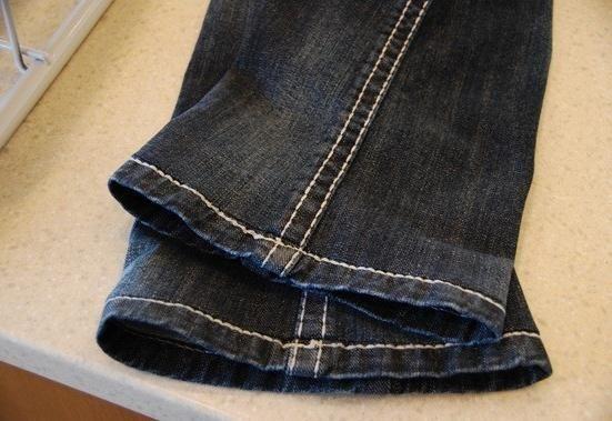 Как да шиете джинси със запазването на шев - уроци на умения