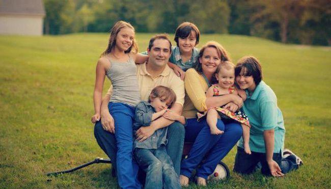 документи за сертифициране на голямо семейство
