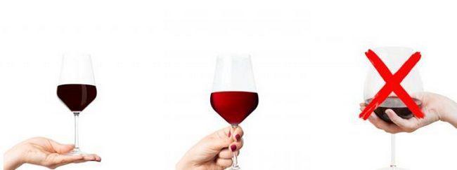 пази чаша червено вино