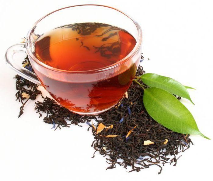 зелен ароматизиран чай