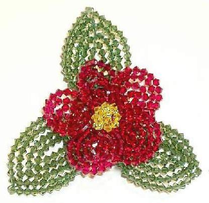 Как да направите цветя от мъниста за декорация или като отделен артикул