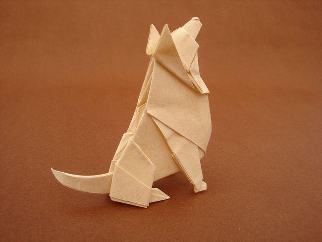 Как да направите куче от хартия със собствените си ръце