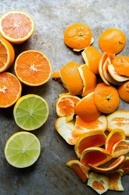 Как да направите универсален детергент за кухнята с помощта на кори от цитрусови плодове