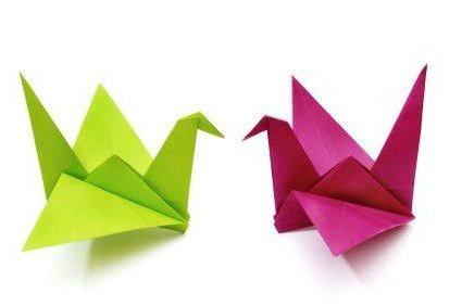 Как да направите кран от хартия? Научете рецептата за щастие