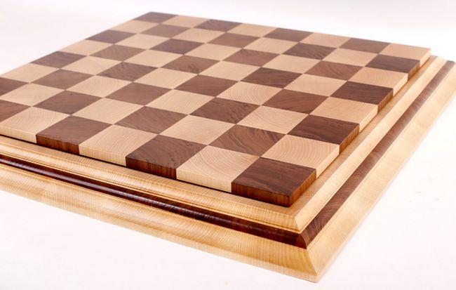 Какви са размерите на шахматната дъска?