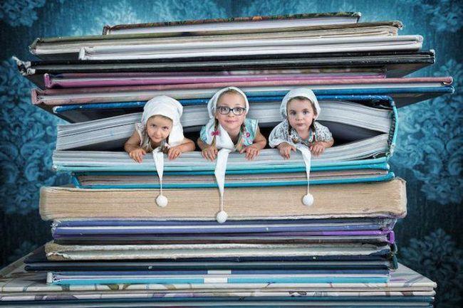 Създателният баща създава фантастични снимки на дъщерите си