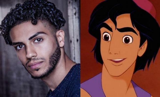 Кой ще играе главните герои в новия филм на Дисни Аладин?