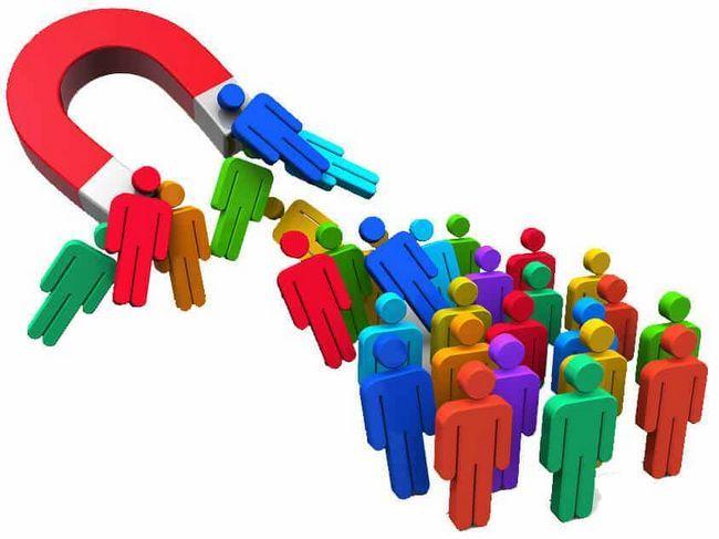 Маркетингът се движи, за да привлича клиенти и да увеличава продажбите: примери