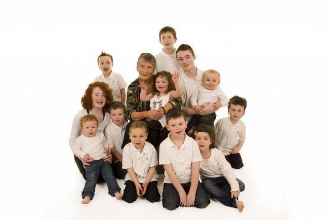 Колко деца има? Колко деца има? Ползи, ползи и помощ за големи семейства