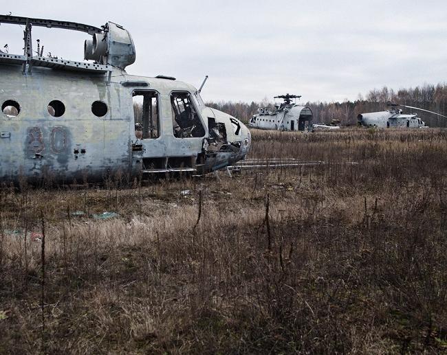 Погребения на Чернобил