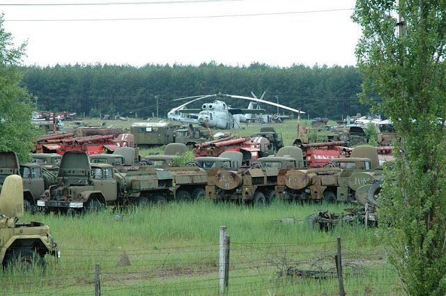 Чернобилска зона за изключване
