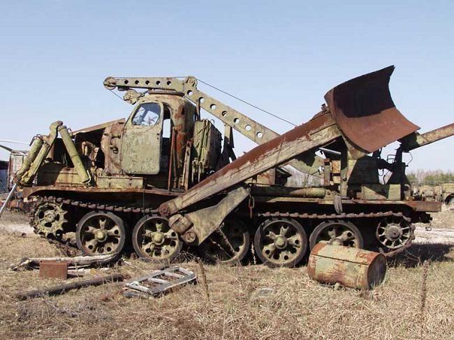 Отпадъци от гробища в Чернобил