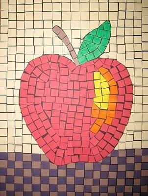 Една мозайка от хартия ще отвори за децата свят на голямо творчество