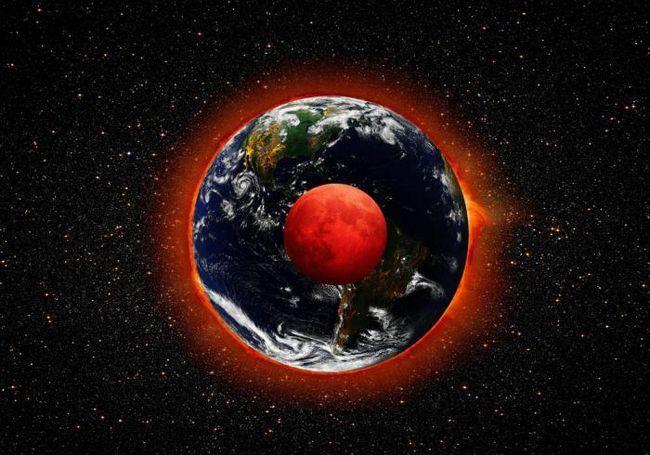 Краят на света? В нощта на 28 септември 2015 г. в небето може да се види огромна