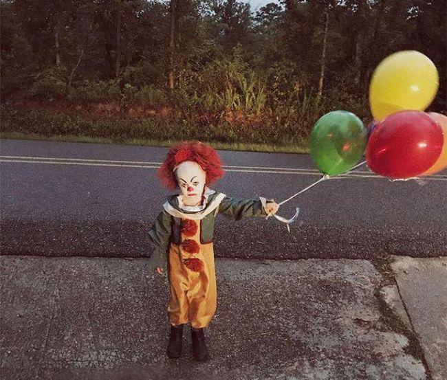 Кошмар или историята за това как момчето се превърна в клоун от филма