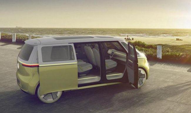 Новата концепция от Volkswagen е самоуправляван миниван на бъдещето
