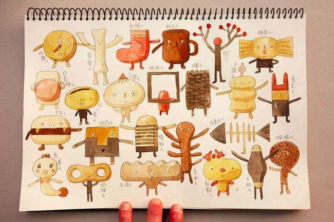 Бащата създава невероятни дървени играчки, базирани на фантазиите на децата си