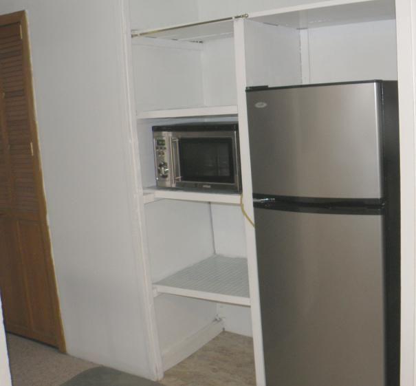мога да сложа микровълнова печка в хладилника
