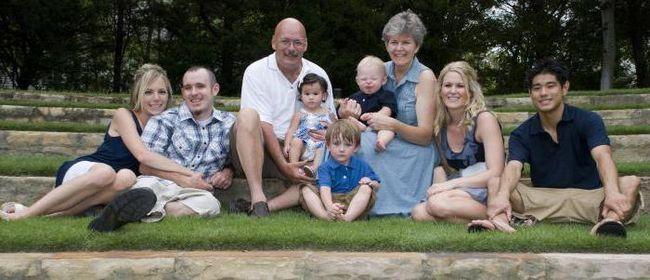 ползата за децата за големите семейства