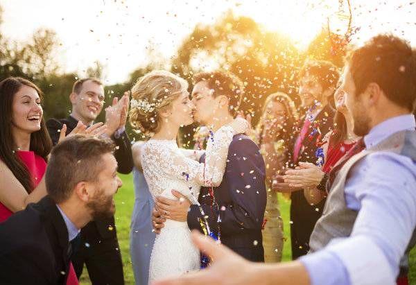 запомнящо се сватбено тържество