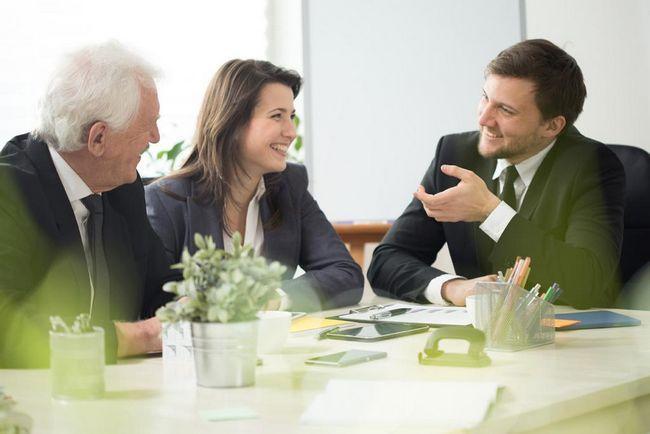 разговор на трима мениджъри