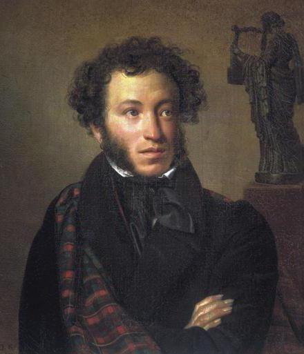 Работата на А. С. Пушкин