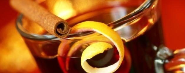 как да направите греяно вино от настинки