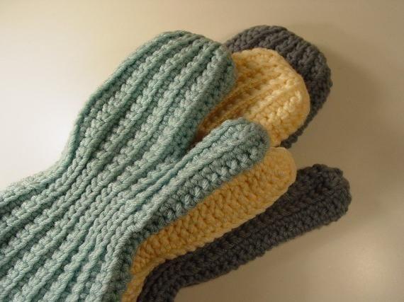 Еластични плетене на една кука - двата основни начина на плетене