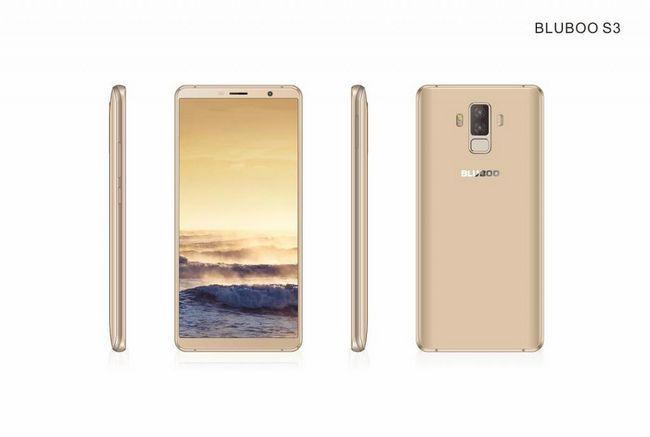 Samsung Galaxy S9 + голяма батерия при 8300 mAh = BLUBOO S3