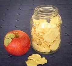 времето за изсушаване на ябълките