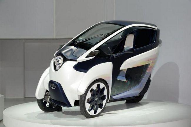 Тойота показа своята визия за градска кола на бъдещето