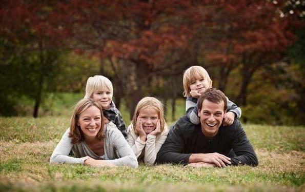 три деца в семейството