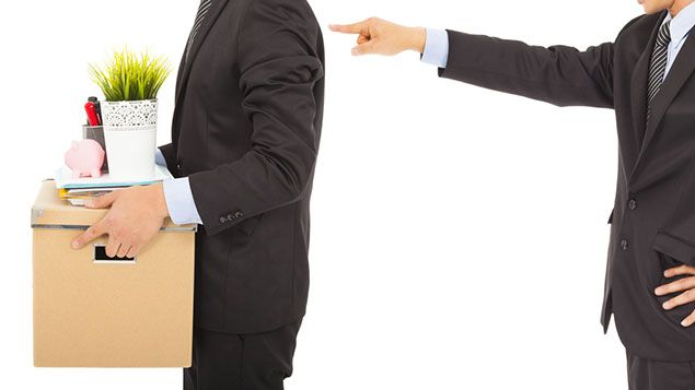 Грижа за служителя при уволнение