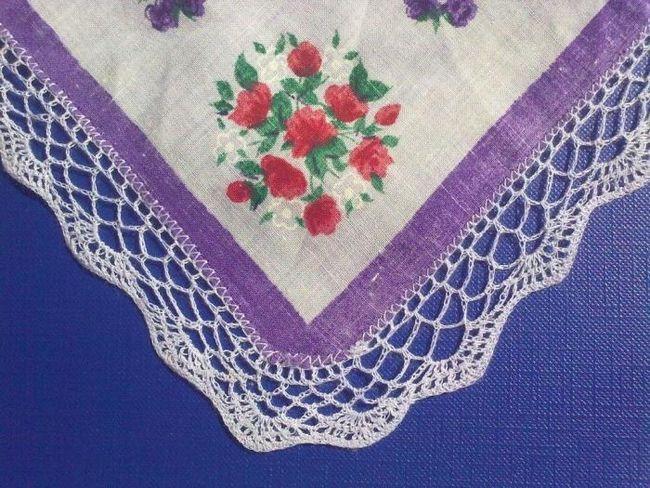Декорации за любимите ви неща - как да вържете ръба на една статия с плетене на една кука
