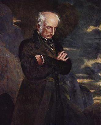 Уърдсуърт Уилям, английски поет: биография, творчество